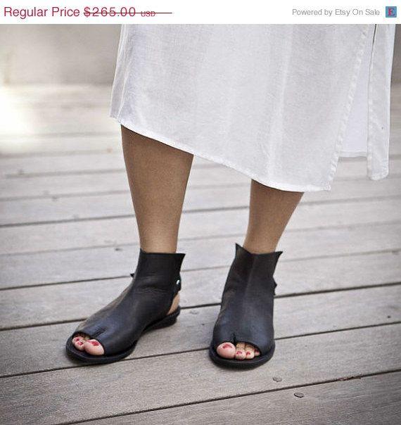 20 off Summer SALE Designer  shoes Tabi open by WalkByAnatDahari