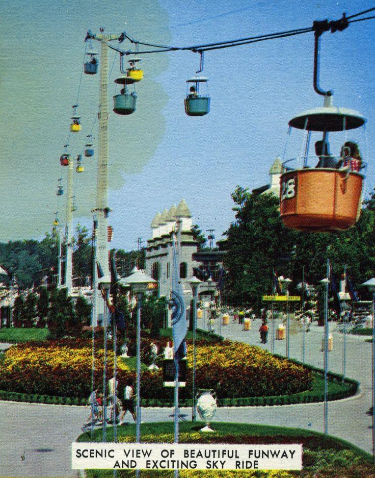 Funway and Sky Ride, Vintage Cedar Point, Ohio