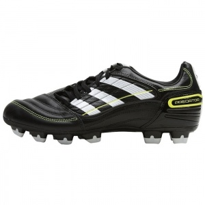 SALE - Adidas Predator Soccer Cleats Mens Black Synthetic - Was $55.00 - SAVE $15.00. BUY Now - ONLY $39.99