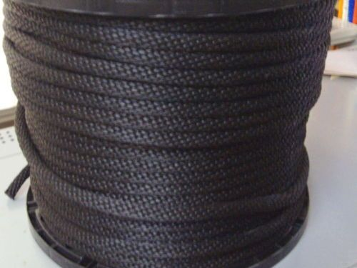 anchor-rope-dock-line-1-4-X-100-BLACK-Multifilamant-POLY-ROPE-Made-in-USA
