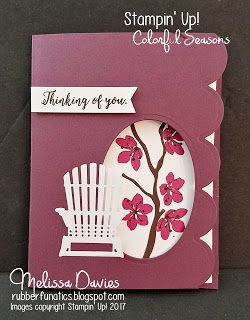 Stampin' Up! Colorful Seasons by Melissa Davies @rubberfunatics #rubberfunatics #stampinup