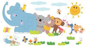 Image result for מדבקות קיר לחדר ילדים