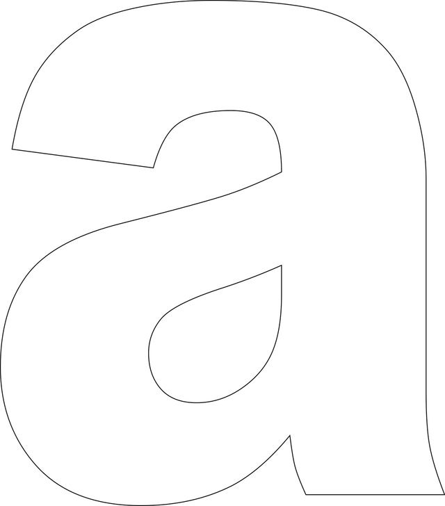Use these free printable lower case alphabet templates to create custom handmade cards, in scrapbooking projects, to make word books and for use in a wide variety of other crafts. This alphabet is in uppercase and the bold letters are ideal for stamping and decorating. High resolution JPG and PNG files are available for download and resizing.