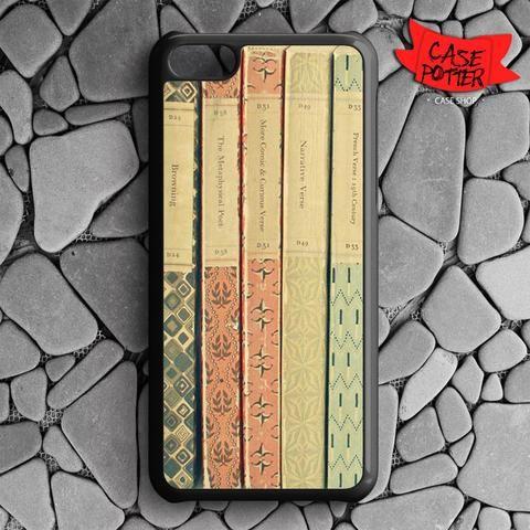 Old Book Shelf iPhone 5C Black Case