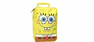 Spongebob Happy Times Soft Pilot Case Carry On Luggage Rolling - Licensed KIDS
