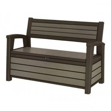 Panchina in Resina 139 x 63.8 x 88 cm KETER BRUSHED BENCH