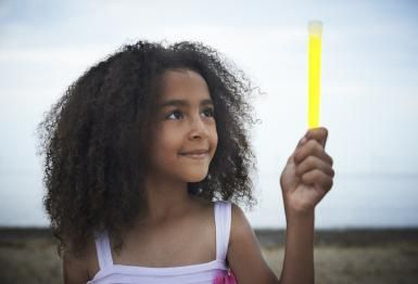 Glow Stick Experiment: Temperature affects how brightly a glow stick glows and how long it lasts.
