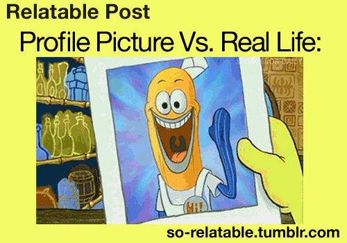 profile vs real life