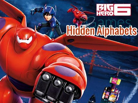 Play Big Hero 6 Hidden Alphabets game! Just click on a game you would like to play, and it will open in a new window. It easy for gamers to find new games every day.