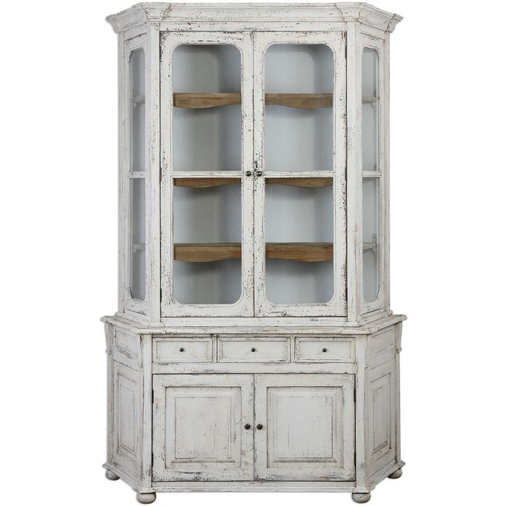Camille White Shabby Chic Cabinet   French Country. 124 best Shabby Chic Finds images on Pinterest