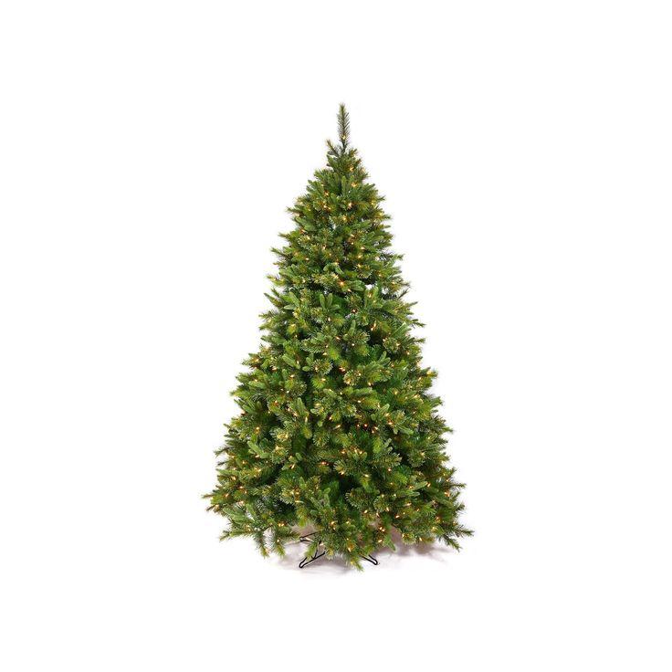 Vickerman 7.5-ft. Pre-Lit Cashmere Slim Artificial Christmas Tree, Green