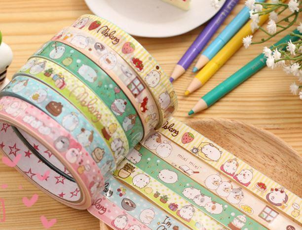 R-Molang Washi Tape - MIMO Pencil Case Shop  - 1