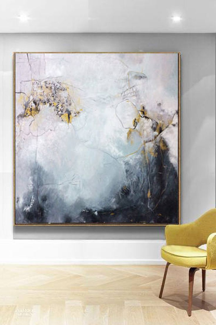 Awe Inspiring Large Oil Painting Abstract Black And White Art Gray Download Free Architecture Designs Scobabritishbridgeorg