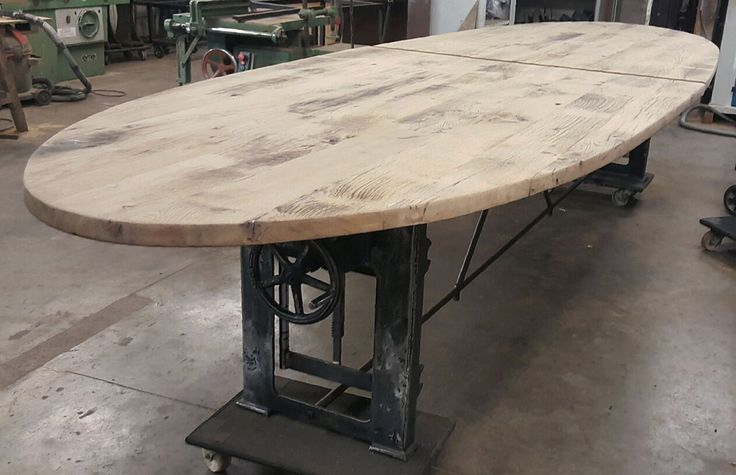 Handmade Industrial Table