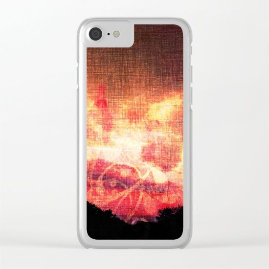 Surreal sky 1 Clear iPhone Case