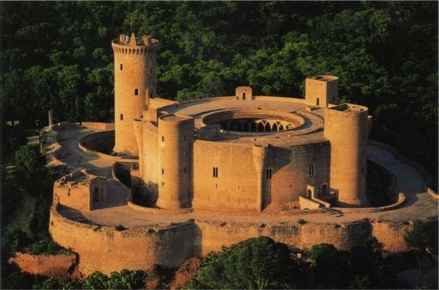 Mallorca Bellver Castle - Spain