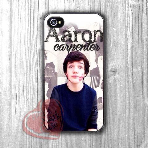 aaron carpenter cute-1nn for iPhone 4/4S/5/5S/5C/6/ 6+,samsung S3/S4/S5,samsung note 3/4