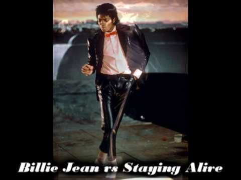Michael Jackson vs Bee Gees - Billie Jean vs Staying Alive