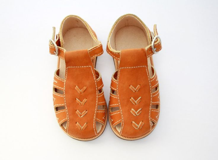 Baby/Toddler/Child - Leather Sandals {Flecha} - Adelisa