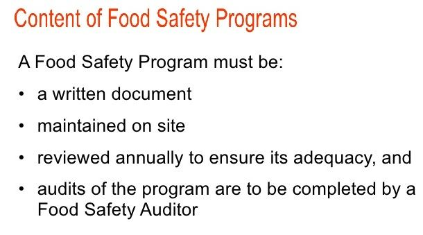 Either it is ‪#‎SQF_Consulting‬, ‪#‎HACCP_training‬ or ‪#‎HACCP_certification‬, these things must be considered in any food safety program you adopt.