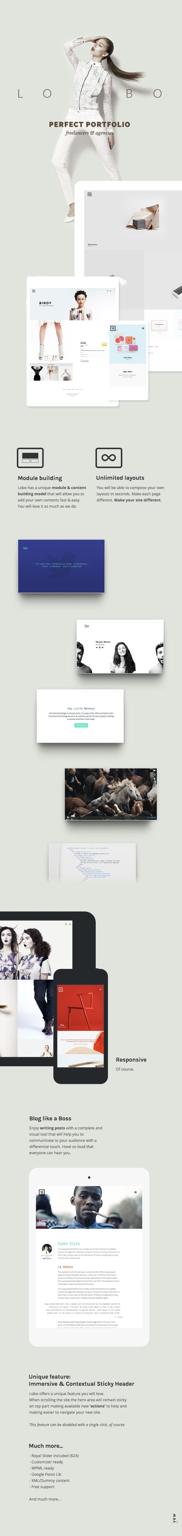 WordPress - Lobo - Portfolio for Freelancers & Agencies   ThemeForest
