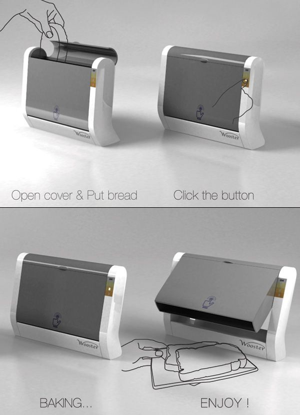 toaster that flips your toast onto your plate when done