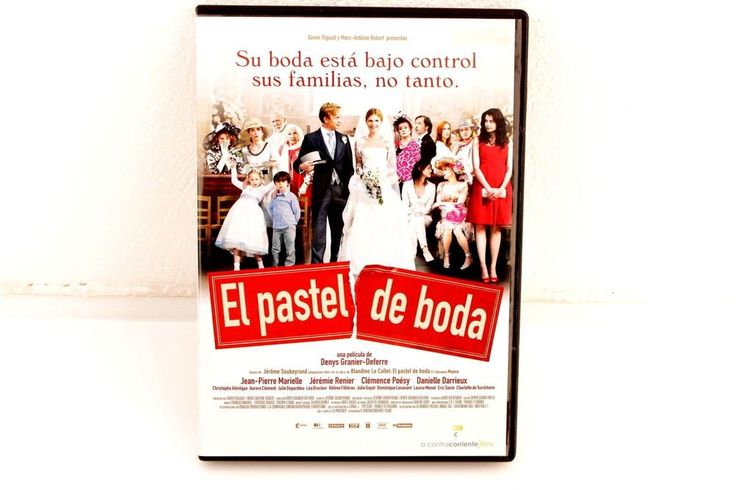 EL PASTEL DE BODA - DENYS GRANIER-DEFERRE - DVD- JÉRÉMIE RENIER - CLÉMENCE POÉSY