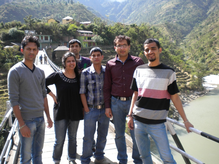 On the way to Manali..
