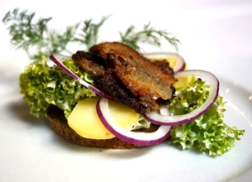 Recipe: Potato Sandwich with Deep-fried Anchovies