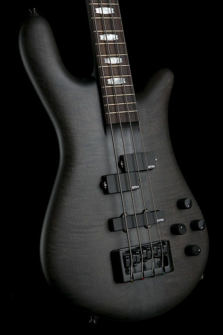 Bass Guitars - Spector Euro 4LX Bass Matte Blk