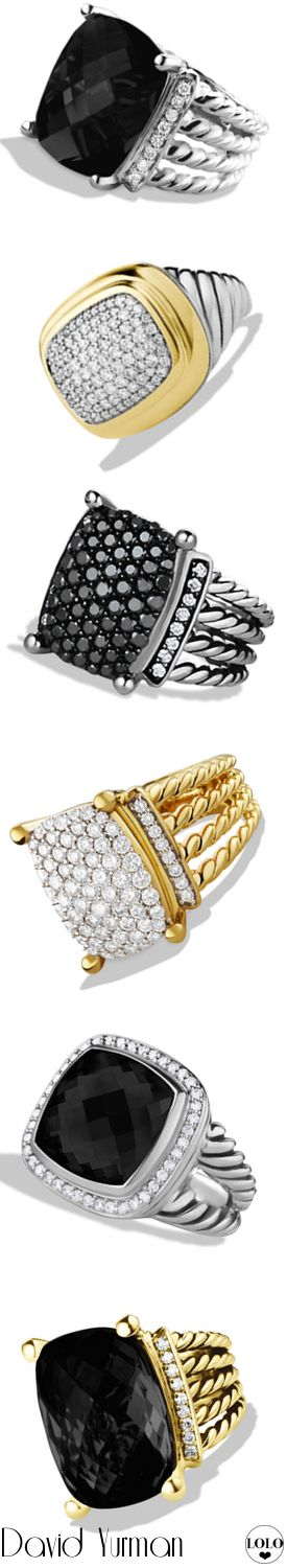 David Yurman Rings |  LOLO❤