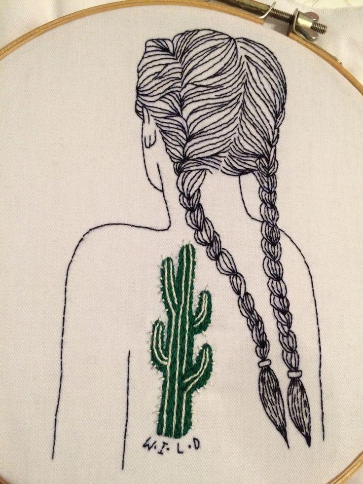 Stitching Sanity | queridasputnik: Wild