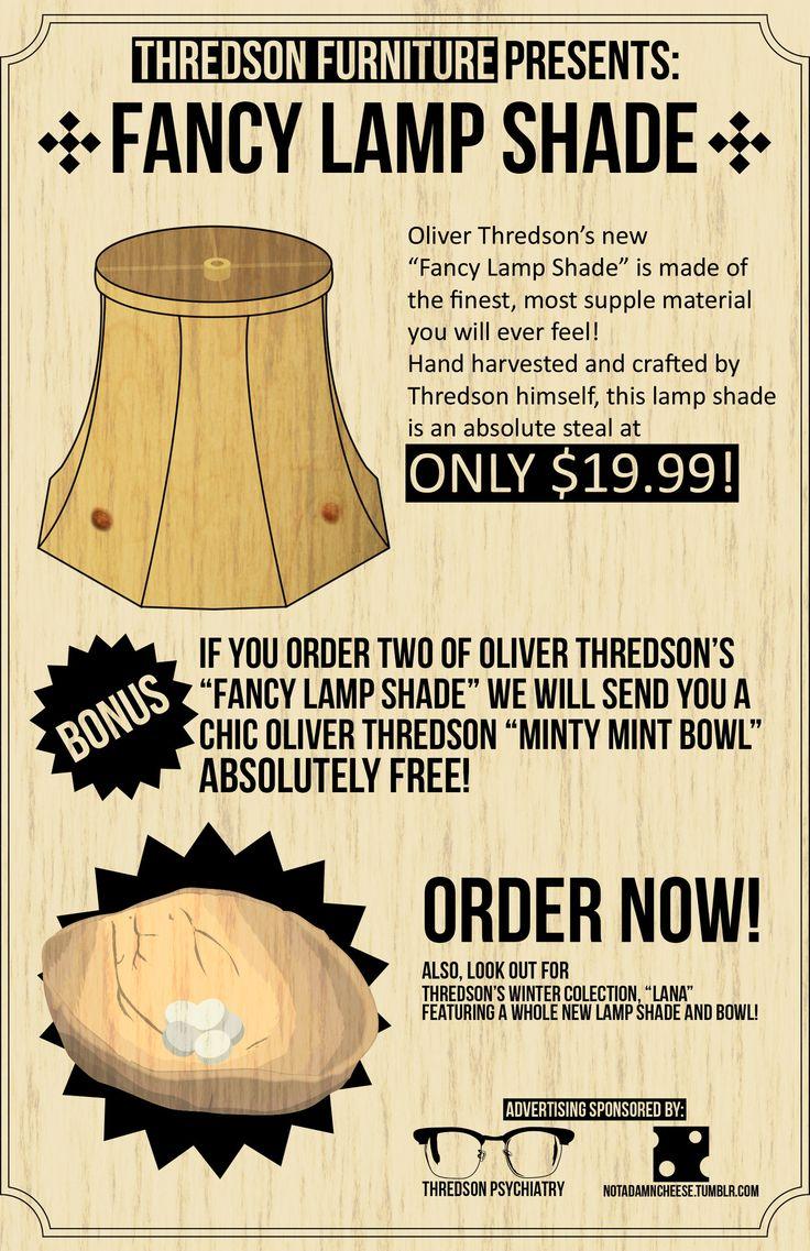 14 best thredson images on pinterest ahs asylum american horror oliver thredson lamp shadeoss aloadofball Gallery