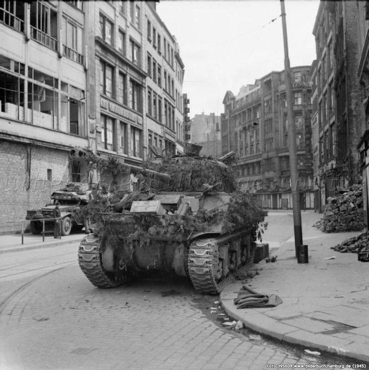 Panzer In Hamburg