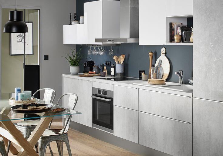 les 25 meilleures id es de la cat gorie cuisine lapeyre sur pinterest lapeyre cuisine. Black Bedroom Furniture Sets. Home Design Ideas