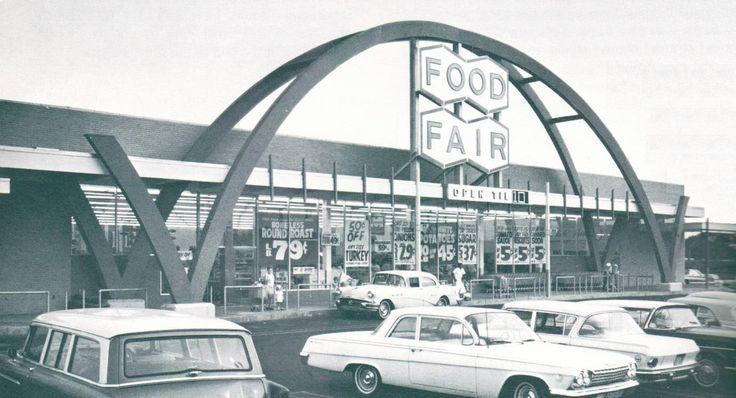 Food fair in bloomfield nj 1960s vintage essex county