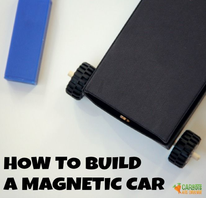 Build a magnetic car with simple materials from around your home! Loads of fun and packed with science learning! Enjoy!
