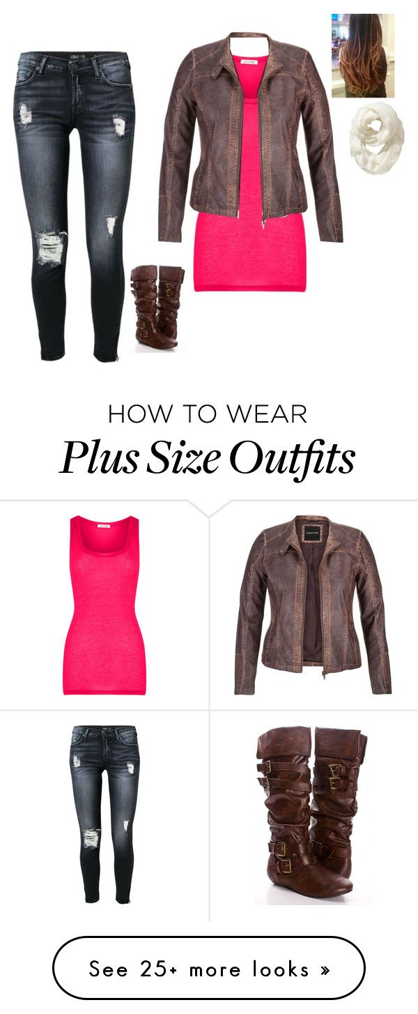 """""""Untitled #553"""" by quata on Polyvore featuring 7 For All Mankind, American Vintage, maurices and Old Navy"""
