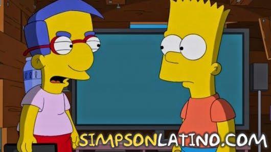 Ver Los Simpson 26x16 - Sky Police - Subtitulado