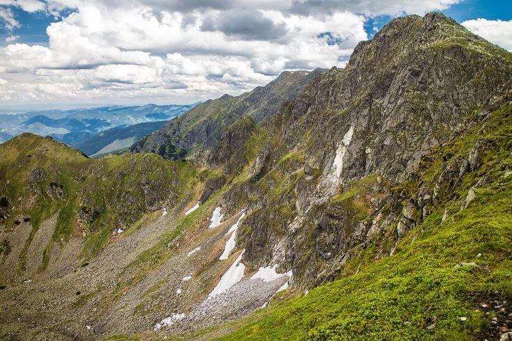Peak Dumbier in the Low Tatras mountains