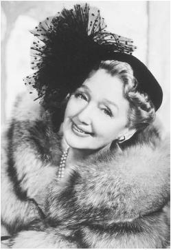 "HEDDA HOPPER (1885 - 1966) Gossip columnist and mother of William Hopper (Paul Drake in ""Perry Mason"")"