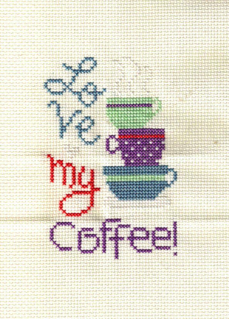 Lizzie Kate  coffeeCross Stitch Freebies | Like this item?