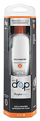 EveryDrop by Whirlpool Refrigerator Water Filter 2 (Pack of 1). For product & price info go to:  https://all4hiking.com/products/everydrop-by-whirlpool-refrigerator-water-filter-2-pack-of-1/