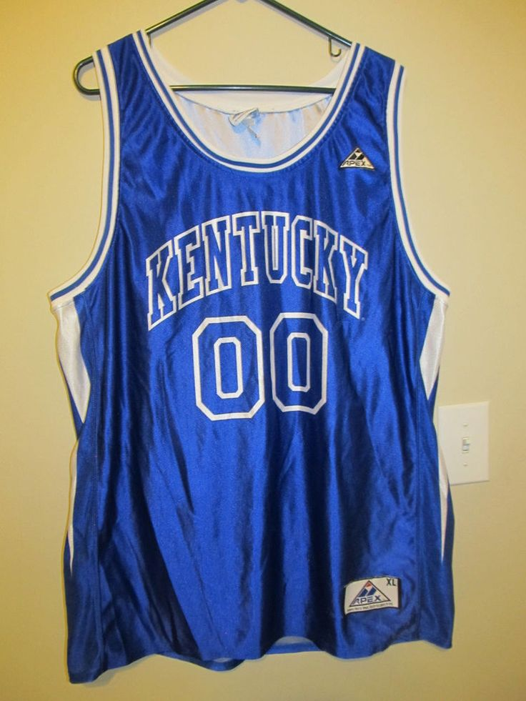 ... blue basketball stitched ncaa jersey supply bd7eb 84c78  hot vintage  kentucky wildcats basketball jersey apex one adult xl 8184e 8f25a d925b817a