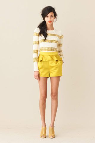 all my favorite things. yellow and stripes!