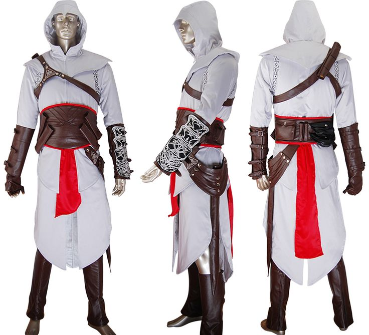 Assassin's Creed cosplay Altair costume halloween costume make-up costume comic-con anime costumes carnival geek costume