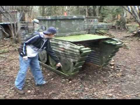 how to make a homemade airsoft tank