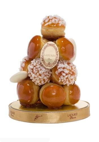 Piled High: Ladurée cream-filled puffs