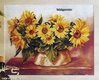 sunflower pattern - Sandrinha Cross Stitch