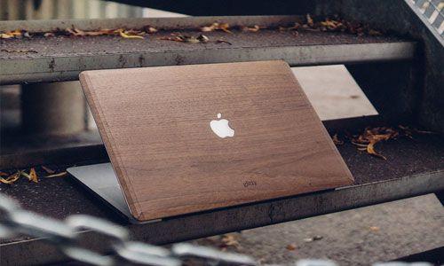 Glitty MacBook Cover Valnød 1